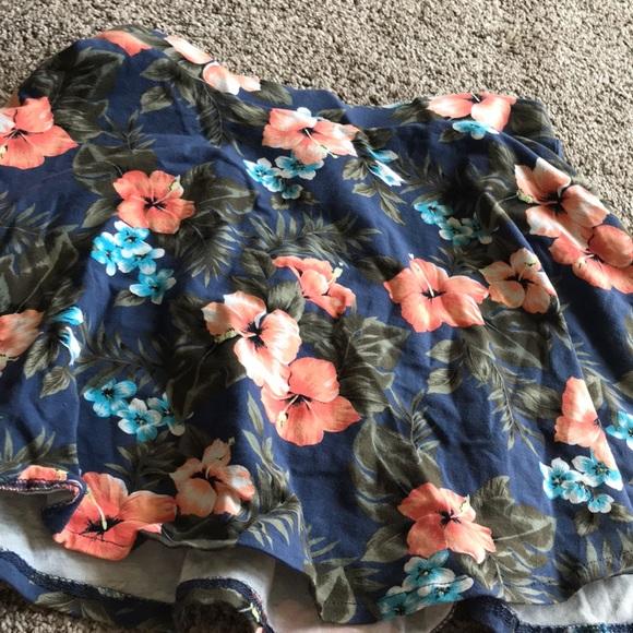 Aeropostale Dresses & Skirts - Floral Skater Skirt from Aeropostale